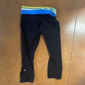 Lululemon Reversible Wunder Under 21 inch